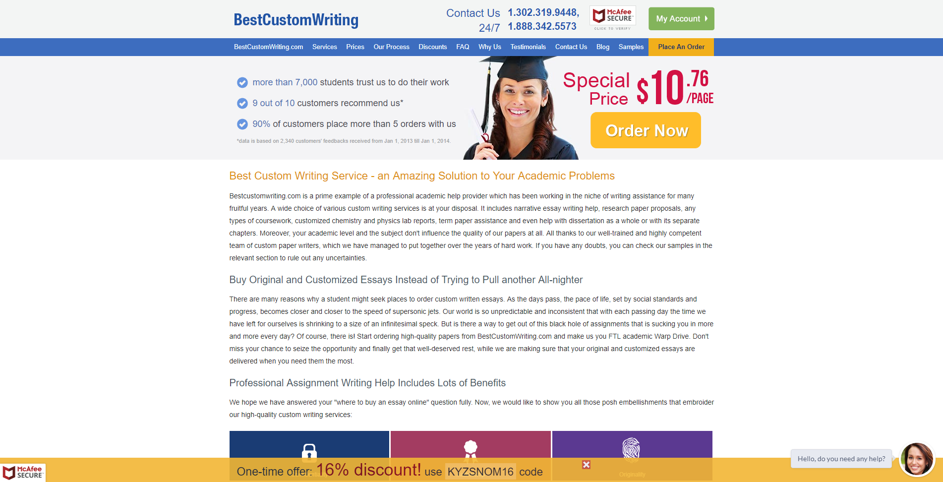 Bestcustomwriting.com - review